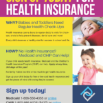 Image from:Flyer: Signing Up for Health Insurance for Your Baby or Toddler – March 2021