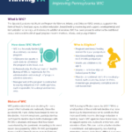 Image from:Fact Sheet: Stopping WIC's Downward Spiral - June 2021