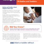 Image from:Fact Sheet: Health Insurance Matters for Healthy Brain Development in PA Babies and Toddlers - August 2021